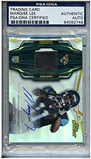 Marqise Lee Autographed Signed Football Trading Card Jacksonville Jaguars PSA/DNA #84092748