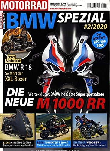 """Motor BMW Spezial 2/2020 \""""Die neue M 1000 RR\"""""""