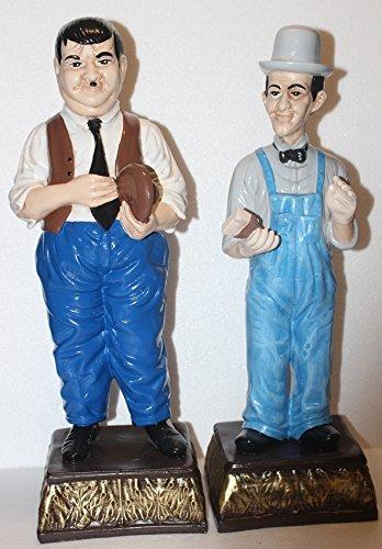JS GartenDeko Dekorationsfiguren Dekofigur Gartenfigur Komiker Dick und Doof H 47-9 cm stehend aus Kunstharz