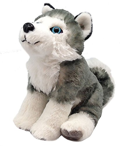 Wild Republic- CK Mini Husky Siberiano de Peluche, 20 cm (