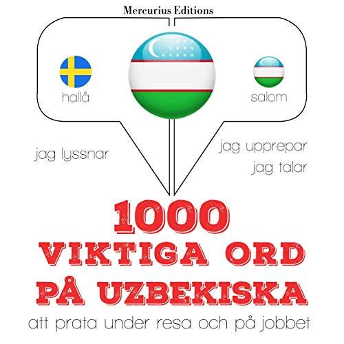 1000 viktiga ord på uzbekiska cover art