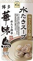 (6個セット) 博多華味鳥 水たきスープ 600g×6個セット