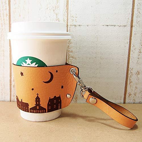 ミリュ『本革コーヒーカップスリーブ』