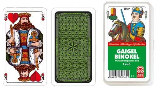Spielkarten Gaigel Binokel