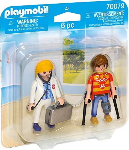 Playmobil 70079 Duo Pack DuoPack Ärztin und Patient, bunt