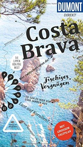 Preisvergleich Produktbild DuMont direkt Reiseführer Costa Brava: Mit großem Faltplan