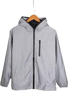 Windbreaker Jacket Reflective Riding Jacket Men Sporting Coat Clothingycling
