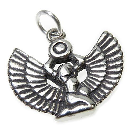 Colgante de plata de ley Isis egipcia - colgante .925 x 1 Egipto Charms -SFP