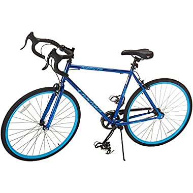 Takara Kabuto Single Speed Road Bike, Blue, Medium/54cm