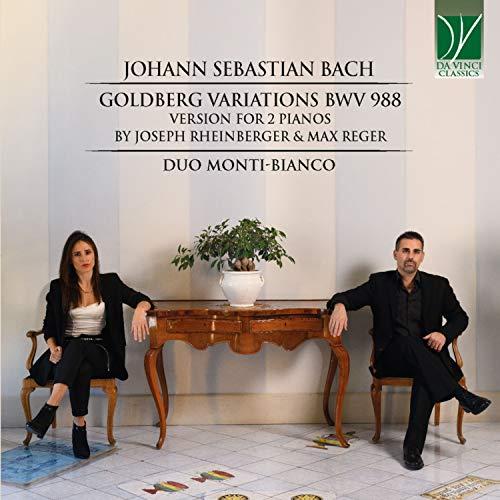 Goldberg Variations in G Major, BWV 988: No. 11, Var.11. Allegro (Arr. for 2 Pianos by Joseph Rheinberger & Max Reger)