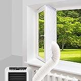 400cm aislante ventana aire acondicionado,Aislamiento de Ventanas para Aire Acondicionado Móvil y Secadora,cubierta aislante para aire acondicionado portatil,Sello de Ventana para Aire Acondicionado