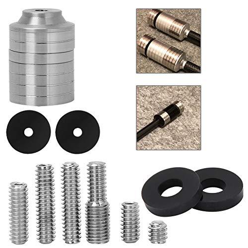 Kit de Peso estabilizador de Arco de Tiro con Arco, Perno de Barra de Equilibrio, Caza para estabilizador de Arco Compuesto, Accesorios de Tiro con Arco al Aire Libre