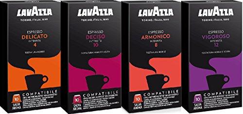Degustación Cápsulas Lavazza Compatibles Nespresso® 40 un