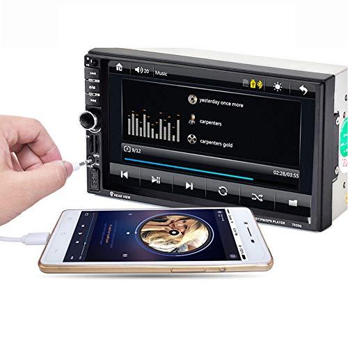 Autoradio met Bluetooth 2din, 7