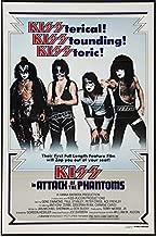 Kiss Meets the Phantom of the Park Movie Poster Replica 13x19