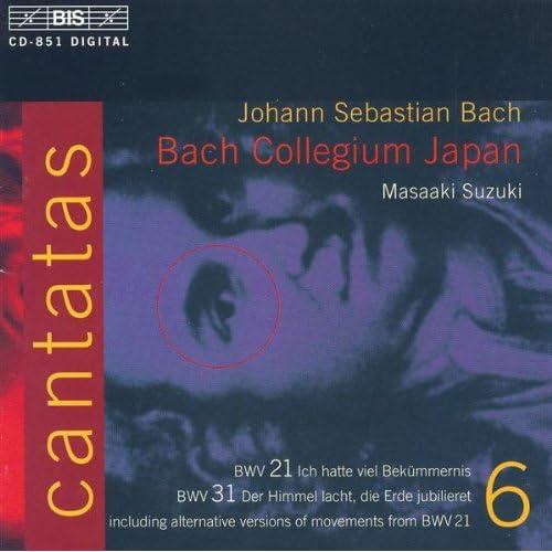 Ich hatte viel Bekummernis, BWV 21(text by S. Franck, G ...