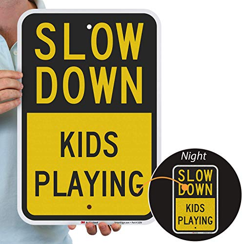 slow for kids sign - 6