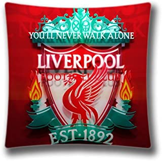 Pop Home Home Decor Cotton & Polyester Throw Pillow Cushion Covers Bed and Couch Liverpool Fc Room Pillowcase 18
