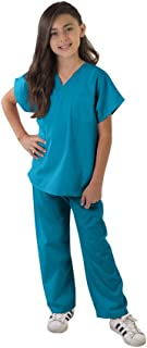 Kids Scrubs Super Soft Children Scrub Set Kids Doctor Dress up