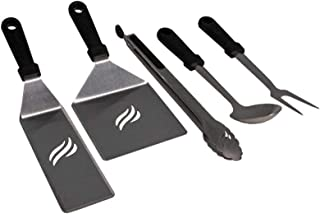 Blackstone Griddle Heavy-Duty Tool Set with Black Handles