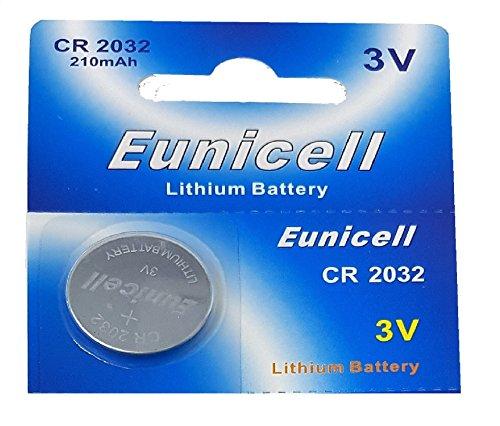 Eunicell Lot de 50 piles Lithium batterie 3V CR2032