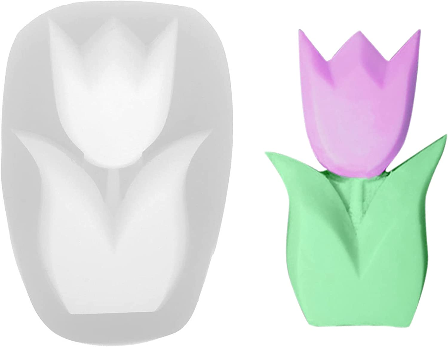 Max 89% OFF ONNPNN Geometry Flower Silicone Minneapolis Mall Mold 3D Candles Abstract Tulip