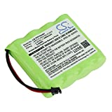 Battery Replacement Compatible for DSC WS4920HE Wireless Repeater, WTK5504 Wireless keypad,