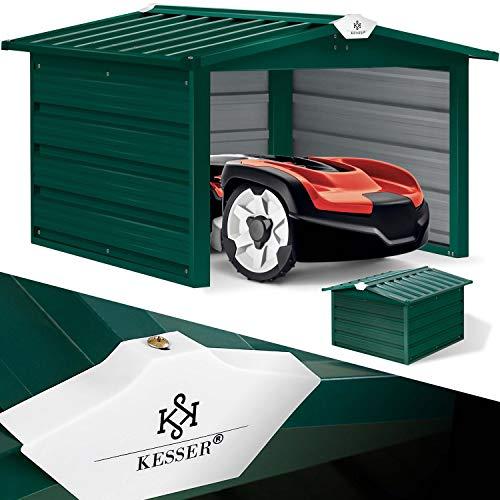KESSER® Mähroboter Garage mit...