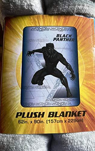 Marvel Black Panther Plush Blanket