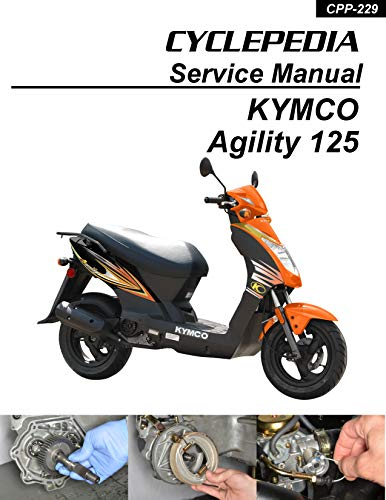 KYMCO Agility 125 Scooter Online Service Manual (English Edition)