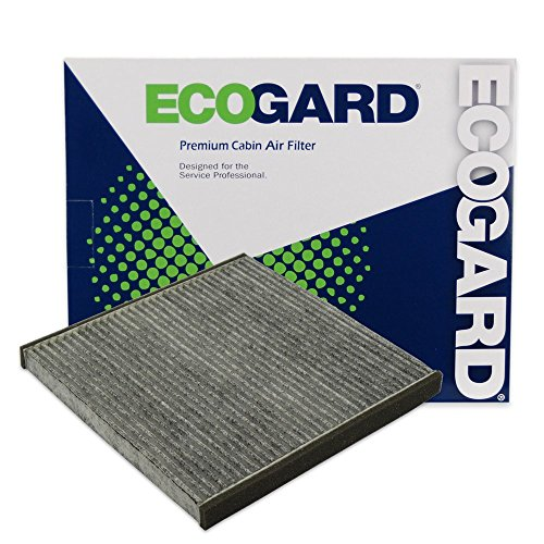 ECOGARD XC35518C Premium Cabin Air Filter with Activated Carbon Odor Eliminator Fits Ford Ranger 2019 | Lexus LS430 2001-2006, SC430 2002-2010, GS300 2001-2005, GS430 2001-2005