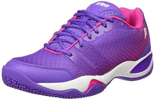 Prince Damen T22 Lite W Sneaker, dunkelviolett, 42 EU