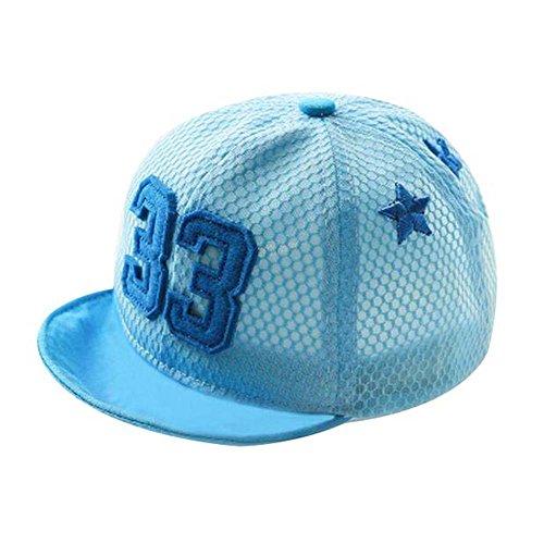 Blue Fashion Sunhat Grand cadeau pour bébé chapeau de plage pliable Chapeau de chapeau Hat d'été