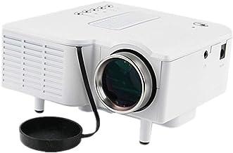 JCCOZ Mini proyector Portable de la Ayuda 1080P MAX 180