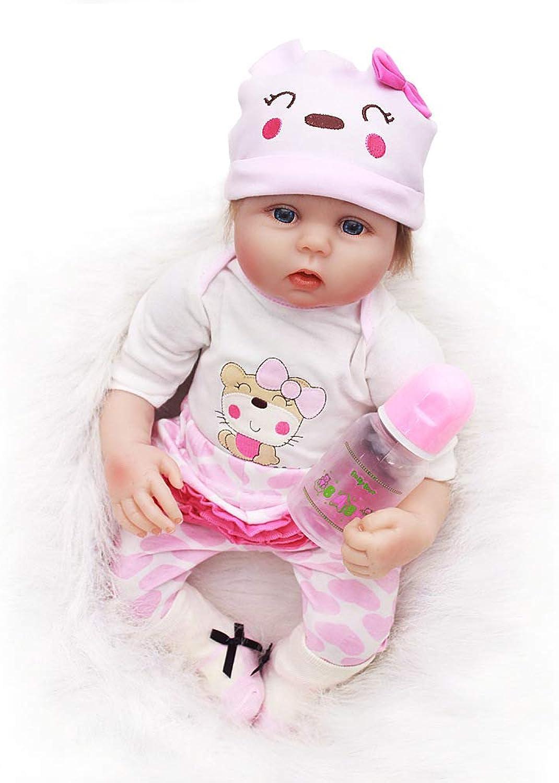 Terabithia 20 Pollici Delicato Tocco raro Realistico Silicone Morbido Vinile Adorabile Bambole del Bambino rinato con Vestiti per i Bambini