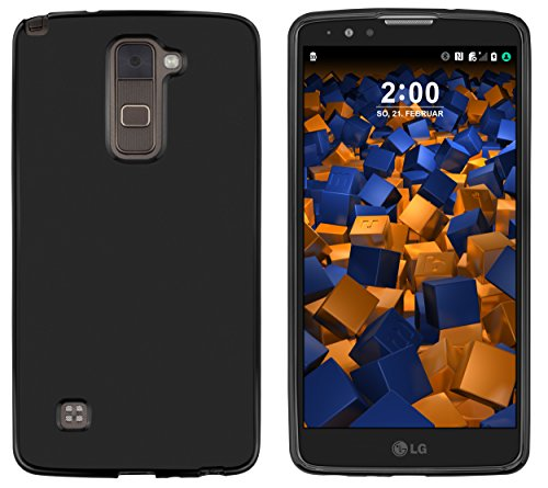 mumbi Hülle kompatibel mit LG Stylus 2 / 2 Plus Handy Hülle Handyhülle, schwarz