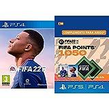 FIFA 22 PlayStation 4 + FIFA 22 Ultimate Team - 1050 FIFA Points | PS4/PS5 Código de descarga Standard - Cuenta española