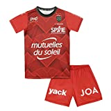 HUNGARIA Ensemble Maillot Short extérieur RCT Toulon - Collection Officielle Enfant 1 an