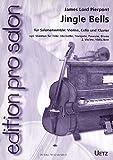 Jingle Bells per Salon Ensemble: Violino, Violoncello e pianoforte. Flauto, Clarinetto, 2. Violino, Viola, Contrabbasso, Tromba, Trombone e Drums optional (Piano Score e Voci)