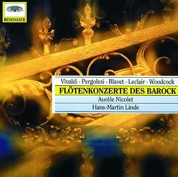 Pergolesi / Vivaldi / Woodcock / Blavet / Leclair: Flute Concertos