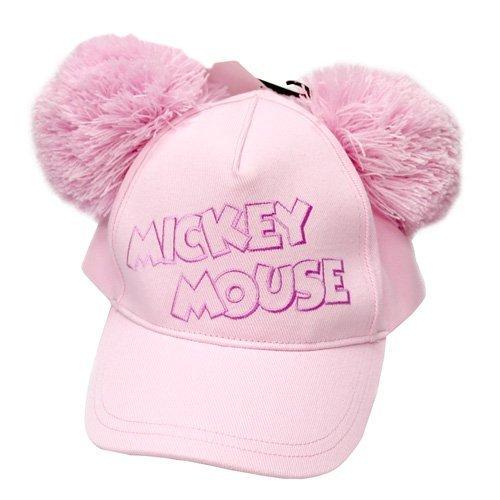 『ミッキーマウス ポンポン付きキャップ 帽子 ファンキャップ【ディズニーリゾート限定】』のトップ画像