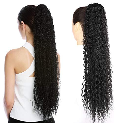 BeautyPlus - Extensiones de pelo rizado con cordón de 30