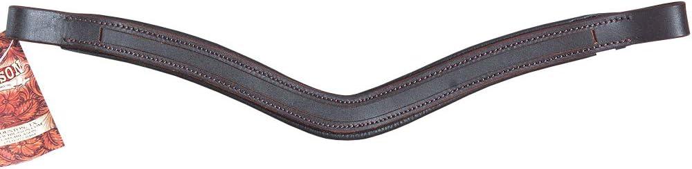 HILASON Boston Mall Draft U Shape English Bridle Browband Blanks Max 59% OFF Padded Empt