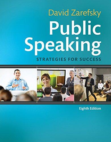 Public Speaking: Strategies for Success