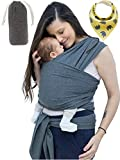 Best Baby Wrap Carriers - Unisex Fular Baby Carrier Sling - Forward Facing Review