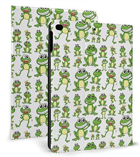 Funny Frog PU Leather Smart Case Auto Sleep/Wake Feature for IPad Mini 4/5 7.9'& IPad Air 1/2 9.7' Case