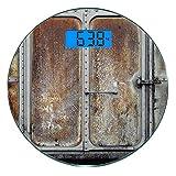 Escala digital de peso corporal de precisión Ronda Industrial Vintage...