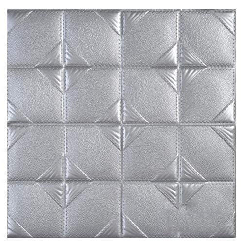 ZCXBHD Fliesenaufkleber Self-Ahdesive 3D Stick On Tile Peel and Stick Wallpaper Hitzebeständig Wasserdicht Backsplash Küche Badezimmer (5 Fliesen),A