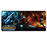 Alfombrillas De Ratónalfombrilla para Ratón, 80X30 Cm Alfombrilla para Ratón World of Warcraft Gaming Alfombrilla para Ratón   Grande, Alfombrilla para   Portátil Speed ​​Otaku Best Gift @ D