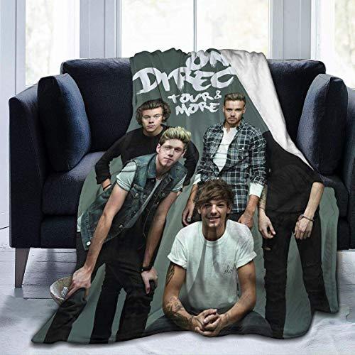 maichengxuan One Direction - Manta de forro polar ultra suave para el sofá y la cama